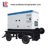휴대용 디젤 엔진 발전기 /Trailer Genset 25kVA Cummins Engine
