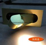 Lámpara de pared caliente del final de Nikel de la venta con fuente de luz de 3W LED