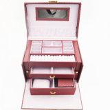 Trinket-Juwel-Armband-Uhr-Geschenk-Schmucksache-Kasten (J01-F)