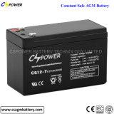 Cspower 12V 12ah Mf gedichtete Leitungskabel-Säure-Batterie CS12-12
