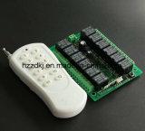 receptor de 1000meter 12channels RF y kit del control de transmisor