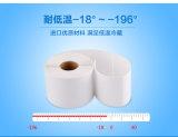 Collants imperméables à l'eau d'animal familier, étiquette de basse température, entreposage au froid congelé avec le collant