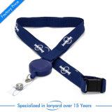 Плоский полиэстер шейный шнурок для пропуска подарок для продвижения мешок плечевой лямки ремня безопасности