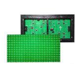 Solo verde al aire libre del módulo de la visualización de LED del verde P10 para hacer publicidad de la tarjeta