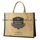 عالة طبع نمو طبيعيّ خيط جولة حمل شاطئ حقائب مع جلد مقبض