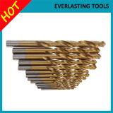 Morceaux de foret Ti-Enduits de DIN338 1mm-13mm pour le perçage en bois