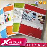 Vente en gros Custom Kraft Paper Notebook A4 Spiral Notebook