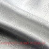 Tela de algodón del telar jacquar del poliester del rayón para la falda de la camisa de alineada
