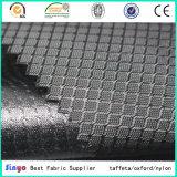 100% Stof van het Net van de Jacquard van de Polyester de Pu Met een laag bedekte 400d voor Rugzak