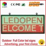 Texto a todo color LED del movimiento en sentido vertical del soporte '' x18 '' de la muestra 40 del LED que hace publicidad visualización de LED video de la pantalla/de la imagen programable P6 al aire libre