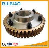 Grúa de construcción de gusano y rueda helicoidal reductor de velocidad