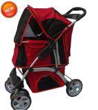 Portador de PET de 4 ruedas silla de paseo al aire libre perro viajar bb-PS03