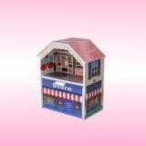 Casa de muñeca de los cabritos con los mini muebles F0375