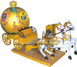 Équipement de divertissement Kiddy Ride Royal Carriage