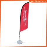6.0メートルの屋外またはイベントの広告のためのカスタム羽のフラグ