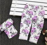 子供の衣服の赤ん坊の花のズボン