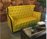 호텔 가구 사무실 소파를 위한 Chesterfield 현대 가죽 소파