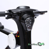 """""""trotinette"""" elétrico preto da cor 48V 10ah com a bateria da bicicleta de E"""