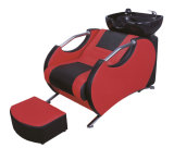 살롱 상점을%s Chair&Bed 단위를 세척하는 빨간색 머리