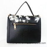 De Zak van de Druk van de Bloem van de Handtassen van de Dames Pu van het Ontwerp van het merk (LY060281)