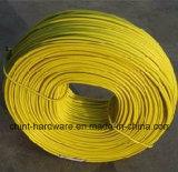 Dingzhou 공급 PVC 입히는 철 Wire/PVC 입히는 Wire/PVC 입히는 강철 의무 철사
