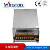 110-220V AC 세륨 RoHS를 가진 600W 12V LED 전력 공급