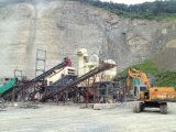 Pianta di schiacciamento di pietra del fiume di capacità elevata per la costruzione di strade (300TPH)