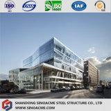 Estilo modular europeu edifício Certificated da exposição do carro da construção de aço