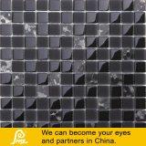 mosaico di vetro della miscela del Seashell di 8mm per la parete in nero o nel bianco