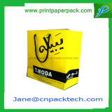 Bespoke напечатанный мешок ручки упаковки еды бумажного мешка сумок Takeaway