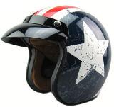 Фабрика сразу поставляет мотоцикла шлема мотоцикла ABS высокого качества шлем стороны самого лучшего половинный для сбывания