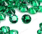 Wuzhou 고품질 모양 녹색 합성 Nano 원석