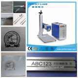 Metaal/de Plastic Laser die van de Vezel Machine 10W 20W 30W 50W merken