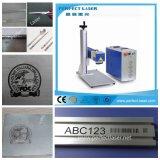 Металл/пластичная машина 10W 20W 30W 50W маркировки лазера волокна