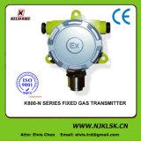 Detector de sensor de fugas de gas 4-20mA fijo de gas de 4-20mA