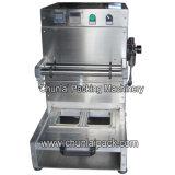 Pneumatische Nahrungsmitteltellersegment-Dichtungs-Maschine