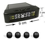 Het ControleSysteem TPMS van de Druk van de band met Externe Sensoren