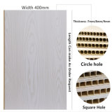 400mm de largura máxima qualidade rígido painel Painel de parede de plástico de PVC para a decoração de paredes interiores DC-477