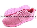 女性の注入のズック靴の偶然のスポーツの靴(FFZL1227-01)