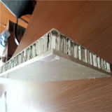 Panneaux en nid d'abeille en aluminium avec de la céramique sur le dessus