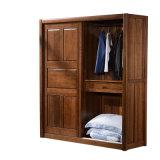 Шкаф шкафа спальни изготовленный на заказ вишни деревянный (GSP9-022)