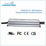 fonte de alimentação impermeável programável do diodo emissor de luz de 120W 0~5A
