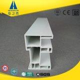 Hst80-14A blaues Profil des Weiß-UPVC für Fenster-Schärpe