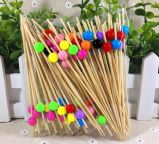 Eco Natural Bamboo Fruit Skewer / Stick / Pick (BC-BS1062)