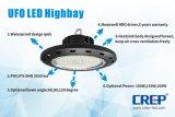 garantía de la luz de la bahía del UFO de 200W LED alta, 3 o 5 de los años