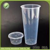 عامة كبير مستهلكة حرارة شفّافة - مقاومة [سلبل] بلاستيكيّة عصير [سمووثي] فنجان