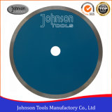 Hoja de sierra de cerámica: 250 mm Sierra continua sinterizado