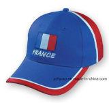 Gorra de béisbol promocional de los deportes de la gorra de béisbol del algodón de encargo de Burshed