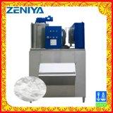 Pequeña máquina de hielo de poco ruido de la escama (1.6T/Day) para la conservación de alimentos