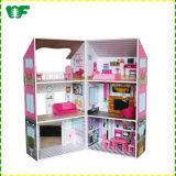 Enfants Enfants de bois bon marché maison de poupée bébé Jouets